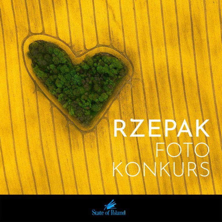 Nowy FOTOkonkurs! #PolskiRzepak