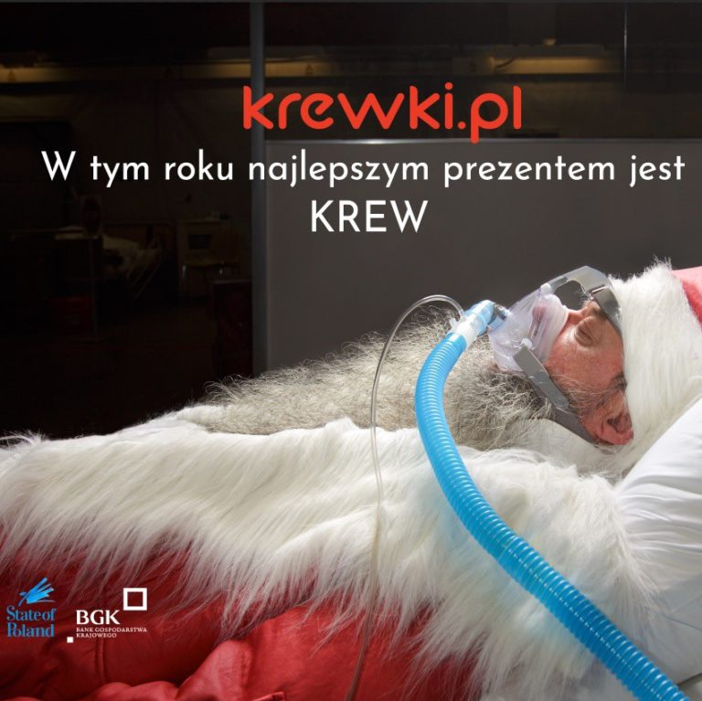 Krewki.pl campaign spreads its wings.